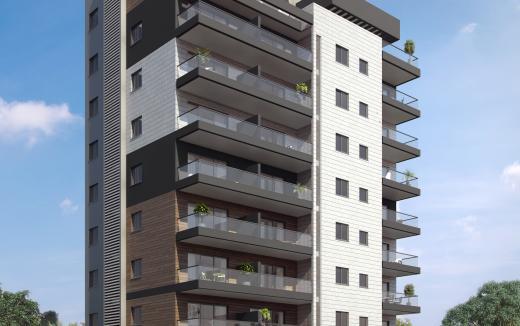 הדמיה של בניין חדש אחרי תמ