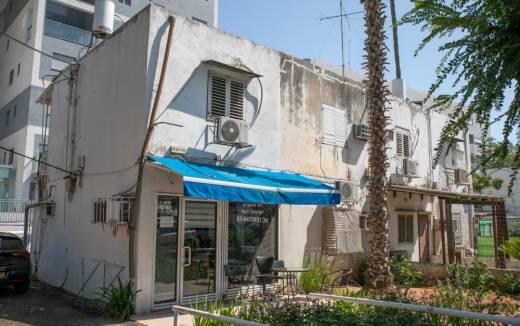 בניין לפני פינוי בינוי תל אביב